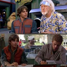 Star Wars and Back to the Future crossover.