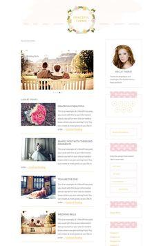 Feminine WordPress blog theme built on the Genesis Framework. Special Introductory price of $15
