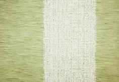 Rothesay Wide Stripe Fabric A broad striped fabric with a tumble wash finish in fennel and ivory.