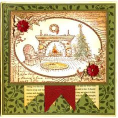 Stampendous Cling Stamp - Fireside Ivy