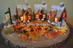 Christmas Village   When Tim Holtz released his new die cuts the Village Collection from Sizzix.  I became very interested in making a tiny ...