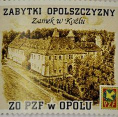 Ink-graphics by my father, Grzegorz Fulawka, on postage stamp #Kedzierzyn-Kozle #ink-graphics #art #GrzegorzFulawka