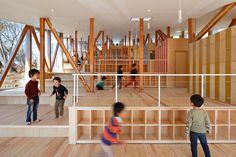 山﨑健太郎デザインワークショップによる、千葉県佐倉市の「はくすい保育園」   architecturephoto.net   建築・デザイン・アートの新しいメディア。アーキテクチャーフォト・ネット