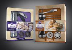 Cookie Press Kits Packaging.