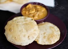 Nagori Poori with Paneer Korma Recipe - RecipeChart.com