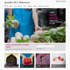 Happy to announce my latest #WordPress website launch for Jennifer M.S. Robertson! http://jennifermsrobertson.com/ features responsive design, retina optimized images, a WooCommerce shopping cart, and extensive blog and recipe sections. Check it out for the latest on raw food, travel, and expat living.