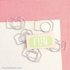 Paper Clips - Cameras  #FreckledFawnPin