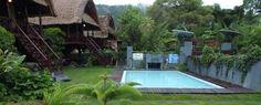 Kolam renang di Restaurant Apung, Kedisan Kinatamani