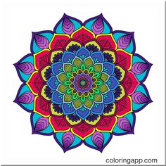 #mandalacoloringbook @coloringapp #coloringapp #coloringbookåforadults #coloringforadults