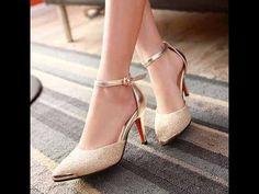 รีวิวรองเท้าออกงานราตรี ไปงานแต่งแฟชั่นเกาหลีสีทองRB2174สวยเริ่ดมาก