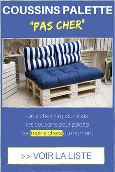 Voici les Coussins pour Palette les Moins Chers du Moment #palette #diy #homelisty #meuble