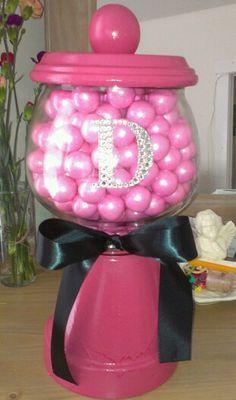 dyi gum ball machines | Diy gumball machine. Love it!!!