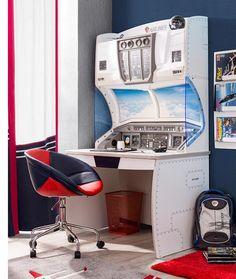 Cilek First Class Schreibtisch First Class, Corner Desk, Kids Room, Furniture, Space, Home Decor, Art, Kids Study Desk, Kids Room Furniture