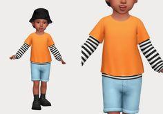 layered sweatshirt   casteru on Patreon Sims 4 Cas, Swatch, Layers, Sweatshirts, Blouse, Tops, Shoulder, Women, Fashion