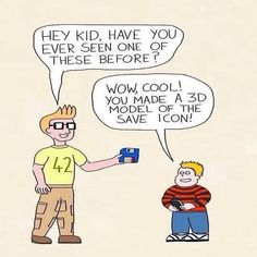 Hey Kida have you seen this before // funny pictures - funny photos - funny images - funny pics - funny quotes - Memes Humor, Tech Humor, Funny Jokes, Geek Humour, Funniest Memes, Computer Humor, Funny Images, Funny Pictures, Funny Pics