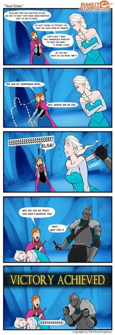 Frozen x Dark Souls