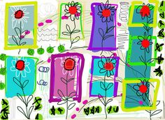 Screen saver drawing for iPhone or iPad by KittsteinerARTStudio, $4.00