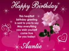 Birthday quotes for aunts birthday wishes for aunt happy happy birthday aunt m4hsunfo