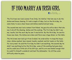 Dating an irish girl joke