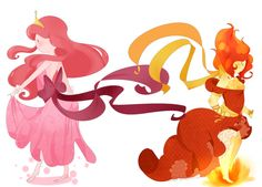 adventure time flame princess rules :)