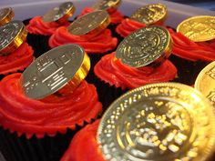 Chinese new year cupcakes ----------- #china #chinese #chinatown