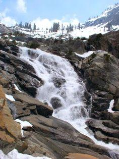 Tokopah Falls Sequoia National Park