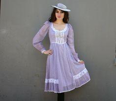 Prairie Dress: Gunne Sax Dresses