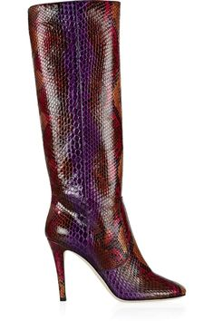 JIMMY CHOO Tosca python knee boots £758 http://www.theoutnet.com/products/637341