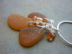 Butterfly Sea Glass Necklace