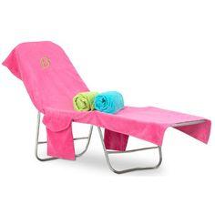 tinytulip.com - Monogrammed Terry Beach Chair Cover, $42.50 (http://www.tinytulip.com/monogrammed-terry-beach-chair-cover)
