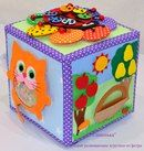 "Мастерская ""Сашенька"" от Светланы.. Activity Cube, Doll Sewing Patterns, Montessori Toys, Busy Book, Sensory Activities, Felt Crafts, Toy Chest, Decorative Boxes, Quilts"