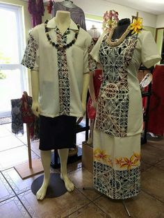 See the source image Samoan Designs, Island Wear, Island Outfit, New Dress Pattern, Dress Patterns, Samoan Dress, Island Style Clothing, Culture Clothing, Different Dresses