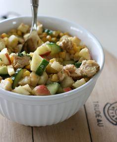 Mexican Chop Salad with Chili Lime Vinaigrette