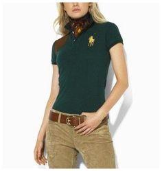 ralph lauren shop! ralph lauren femme france Big Pony Skinny Polo Gris  lauren1520 Polo Shirt ad0d5c7b91d5
