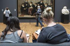 Ungeteilte Aufmerksamkeit von Besuchern gewinnen: #Startdrawing Aktion im Rijksmuseum