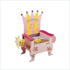 Hand Painted Furniture Designs on Teamson Kids Hand Painted Princess Potty Chair W 4105b