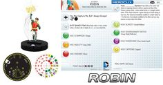 003-Robin Heroclix Classic Batman