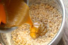 Rice krispie energy bites