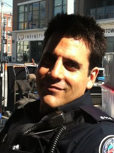 Idk what it is about this guy. Maybe the sarcastic smirks? Idk. But Sam Swarek from Rookie Blue. He could pull me over any day.
