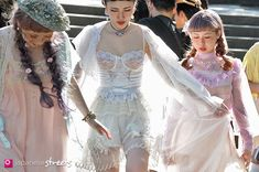 Romantic Fairy Tale Clothes in a Tokyo Park
