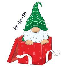 Christmas Labels, Christmas Clipart, Christmas Gnome, Christmas Art, Christmas Decorations, Christmas Ornaments, Watercolor Christmas Cards, Christmas Drawing, Christmas Paintings