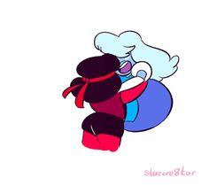 Steven+Universe+Sapphire | animations sapphire Jailbreak im dying wEEPS garnet steven universe ...