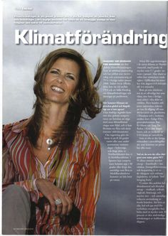 Intervju om klimatförändringar i Boliden Magazine år 2009. Nu fokuserar jag på lösningar, och hur vi kan göra smarta investeringar som också sparar miljön och klimatet.