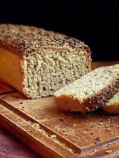 Chleb pszenny razowy z miodem