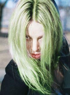 #Green #hair