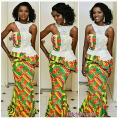 The collection of Beautiful Ankara Pattern Styles For Ladies you've ever wanted to see. Want to style and pattern your African print ankara African Dresses For Women, African Wear, African Fashion Dresses, African Women, Ankara Fashion, African Beauty, African Outfits, Trendy Ankara Styles, Kente Styles