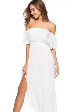rochii vaporoase de vara Cold Shoulder Dress, White Dress, Fit, Dresses, Fashion, Vestidos, Moda, Shape, Fashion Styles