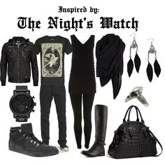 """""""The Night's Watch"""" by ladymandalay on Polyvore"""