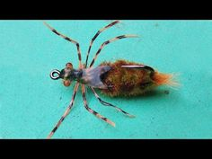 Dragon fly nymph fly tying instructions by Ruben Martin - YouTube