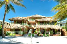 Caye Casa is an intimate boutique hotel hotel on the beach just north of San Pedro town.